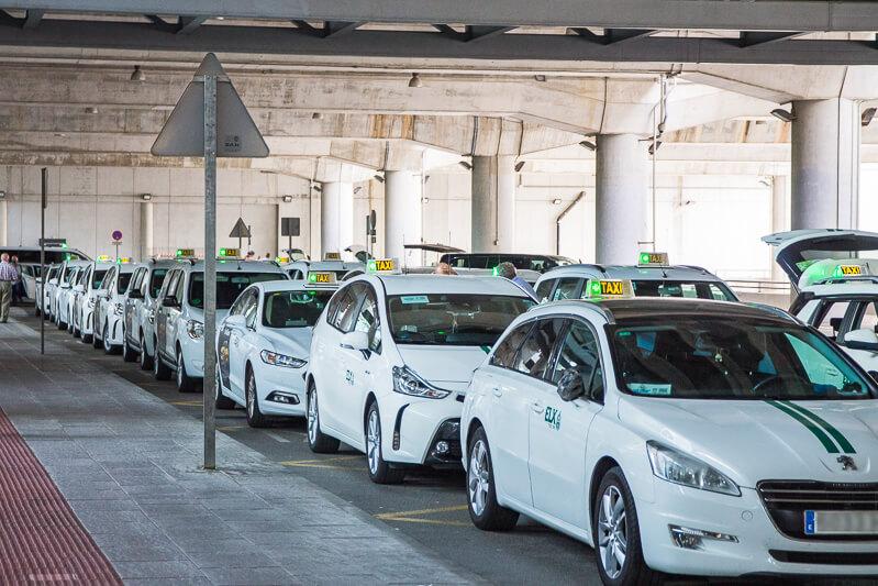 servicio taxi aeropuerto alicante elche