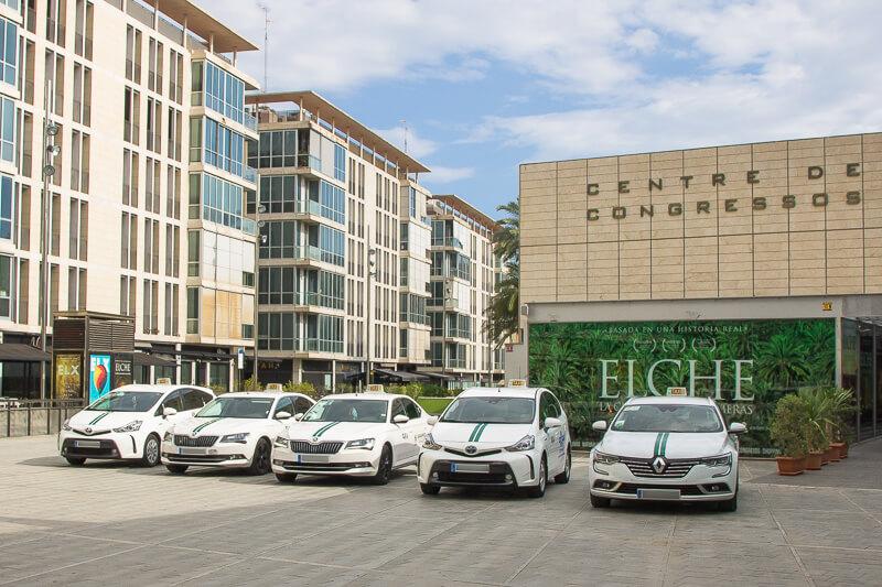 taxis oficiales de elche y pedanías