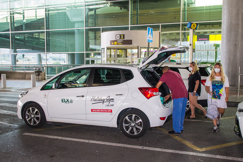 traslado en taxi aeropuerto alicante